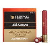 "Federal Premium Personal Defense 410 Gauge 3"" 7/16 oz. #4 Buck – 20 Rounds"