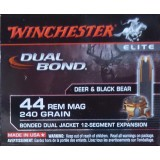 Winchester Dual Bond 44 Mag 240 Grain Bonded Dual Jacket - 20 Rounds