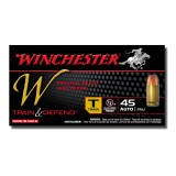 Winchester Reduced Lead Training 45 ACP 230 Grain FMJ - 500 Rounds