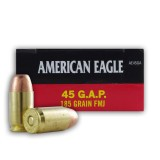 Federal American Eagle 45 GAP 185 Grain FMJ - 1000 Rounds