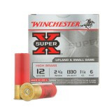 "Winchester Super-X 12 Gauge 2-3/4"" #6 – 25 Rounds"