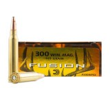 Federal Fusion 300 Win Mag 165 Grain SP - 20 Rounds