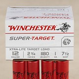 "Winchester Super Target 12 Gauge 2 3/4"" 1 Ounce #7 1/2 Shot - 250 Rounds"