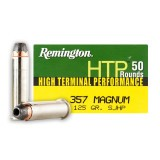 Remington HTP 357 Mag 125 Grain SJHP - 500 Rounds