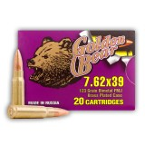 Golden Bear 7.62X39 123 Grain FMJ - 20 Rounds