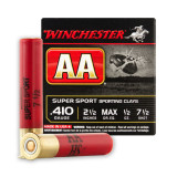 """Winchester AA Sporting Clays 410 Gauge 2-1/2"""" 1/2 oz. #7-1/2 – 25 Rounds"""