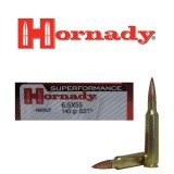 Hornady Superformance 6.5x55mm 140 Grain SST Polymer Tipped - 20 Rounds