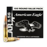 Federal 5.56x45mm 55 Grain FMJBT - 100 Rounds
