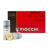 "Fiocchi Target Shooting Dynamics 12 Gauge 2-3/4"" 1 oz. #7.5 – 250 Rounds"