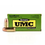 Remington UMC LeadLess 9mm 115 Grain FNEB - 50 Rounds