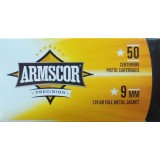 Armscor 9mm 115 Grain FMJ - 1000 Rounds
