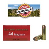 Black Hills 44 Mag 300 Grain JHP - 50 Rounds