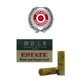 "Estate Game and Target 2-1/2 Dram 20 Gauge 2-3/4"" 7/8 oz. #6 – 25 Rounds"