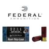 """Federal Game-Shok Heavy Field 12 Gauge 2-3/4"""" 1-1/8 oz. #6 – 25 Rounds"""