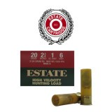"Estate Cartridge HV Hunting 2-3/4 Dram 20 Gauge 2-3/4"" 1 oz. #6 – 25 Rounds"