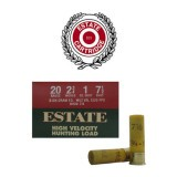 "Estate HV Hunting 2-3/4 Dram 20 Gauge 2-3/4"" 1 oz. #7-1/2 – 25 Rounds"