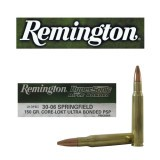 Remington Hypersonic Core-Lokt 30-06 150 Grain Ultra-Bonded PSP - 20 Rounds