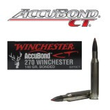 Winchester Supreme 270 140 Grain AccuBond – 20 Rounds