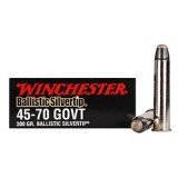 Winchester Supreme 45-70 Government 300 Grain Ballistic Silvertip – 20 Rounds