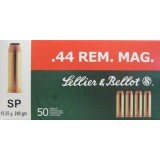 Sellier & Bellot 44 Mag 240 Grain SP - 50 Rounds