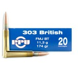 Prvi Partizan 303 British 174 Grain FMJBT 0 500 Rounds