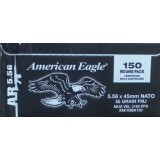 Federal American Eagle 5.56x45mm NATO 55 Grain FMJ – 150 Rounds
