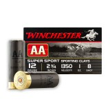 "Winchester AA Sporting Clay 12 Gauge 2-3/4"" 1 oz. #8 – 25 Rounds"