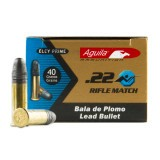 Aguila Match 22 LR 40 Grain LRN – 50 Rounds