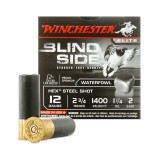 "Winchester Blind Side Waterfowl 12 Gauge 2-3/4"" 1-1/4 oz. #2 Hex Shot – 25 Rounds"