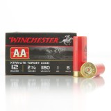 "Winchester AA Xtra-Lite 12 Gauge 2-3/4"" 1 oz. #8 – 25 Rounds"