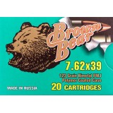 Brown Bear Polymer Coated 7.62x39mm 123 Grain FMJ – 20 Rounds