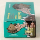 Brown Bear 9mm 115gr. FMJ - 500 Rounds
