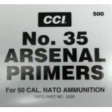 CCI #35 50 BMG Primers - 500 Count