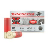 "Winchester Super-X 12 Gauge 2-3/4"" 1 oz. Rifled Slug – 15 Rounds"