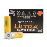 "Federal Ultra Heavy Field & Clay 20 Gauge 2-3/4"" 1 oz. #7-1/2 – 250 Rounds"