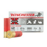 "Winchester Super-X 12 Gauge 2-3/4"" #5 – 25 Rounds"