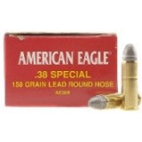 Federal 38 Special 158 Grain American Eagle LRN - 50 Rounds