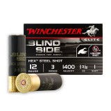 "Winchester Blind Side 12 Gauge 3"" 1-3/8 oz. #1 Hex Steel Shot – 25 Rounds"