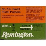 "Remington #5-1/2 Small Pistol ""Magnum"" Primers - 1000 Count"