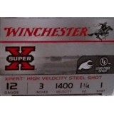 "Winchester Super-X Waterfowl 12 Gauge 3"" 1-1/4 oz. #1 – 25 Rounds"