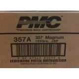 PMC Bronze 357 Magnum 158 Grain JSP - 50 Rounds