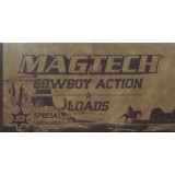 Magtech Cowboy Action 38 Special 158 Grain LFN – 1000 Rounds
