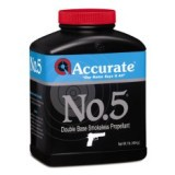 Accurate Reloading Powders - No. 5 - 8 lbs