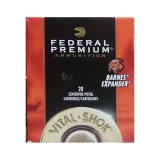 Federal Vital-Shok 44 Mag 225 Grain Barnes Expander SCHP - 20 Rounds