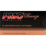 PMC 9mm 115 Grain FMJ - 50 Rounds