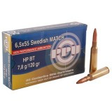 Prvi Partizan 6.5x55mm Swedish 120 Grain HP - 20 Rounds