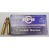 Prvi Partizan 7.5x55 Swiss 174 Grain SP - 20 Rounds