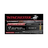 Winchester Varmint HV 17 Win Super Mag 20 Grain Polymer Tip - 50 Rounds