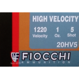 "Fiocchi High Velocity 20 Gauge 2-3/4"" 1 oz. #5 – 25 Rounds"