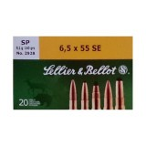 Sellier & Bellot 6.5x55 Swedish 140 Grain SP – 20 Rounds